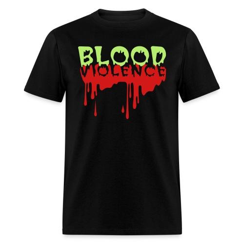blood violence2 - Men's T-Shirt