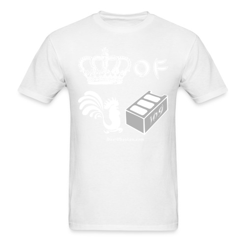icons white asian - Men's T-Shirt