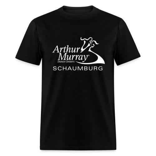 Arthur Murray Schaumburg White Logo - Men's T-Shirt