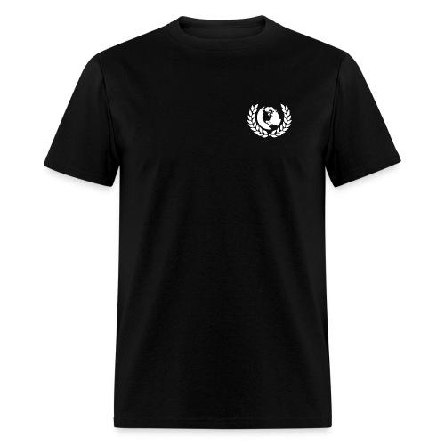 world logo white - Men's T-Shirt
