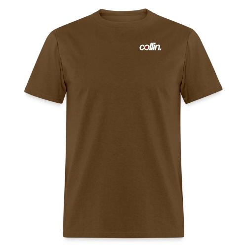 Collin. (White w/ Rose) - Men's T-Shirt