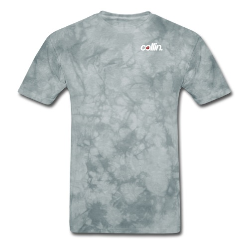 Collin. (White w/ Rose) - Men's T-Shirt