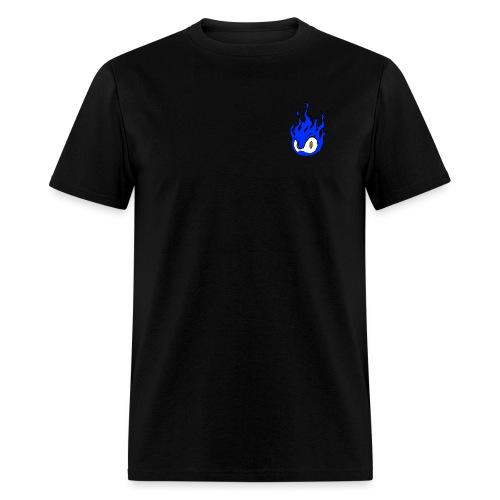 Blue Fire Power - Men's T-Shirt
