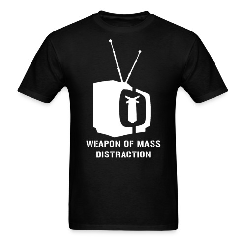 weapon of mass distraction - Men's T-Shirt