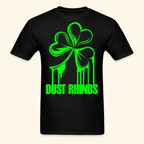 dustrhinospaintshamrock - Men's T-Shirt