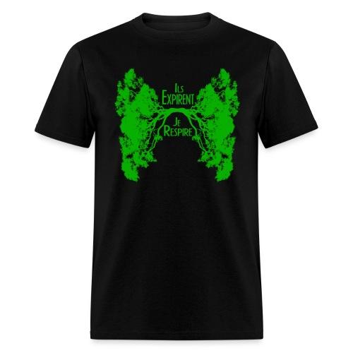 ExpireRespireVert - Men's T-Shirt