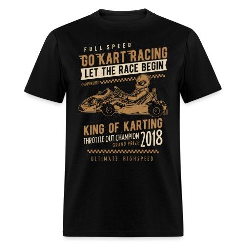 Go Kart Racing 2018 - Men's T-Shirt