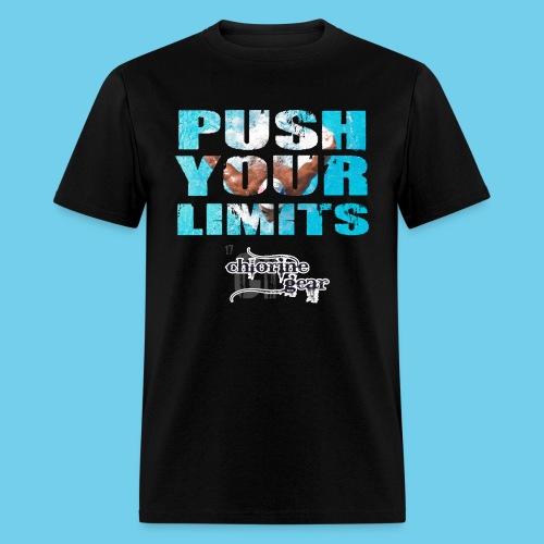 Motivational Push your limits - Men's T-Shirt