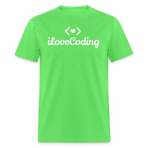 I Love Coding - Men's T-Shirt
