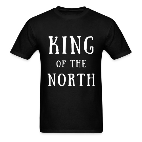 King of the North White - Men's T-Shirt