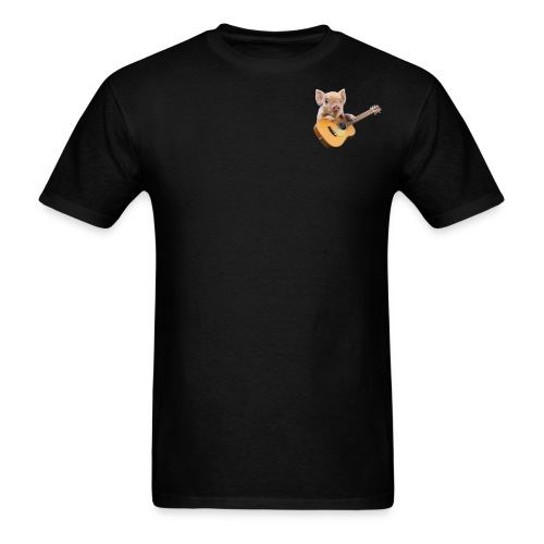 GuitarPigLogo by GuitarLoversCustomTees png - Men's T-Shirt