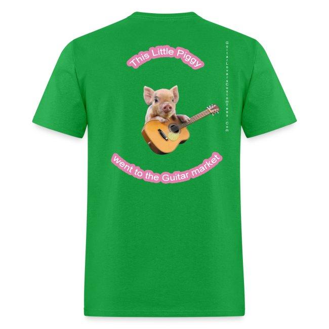 GuitarPigLogo by GuitarLoversCustomTees png