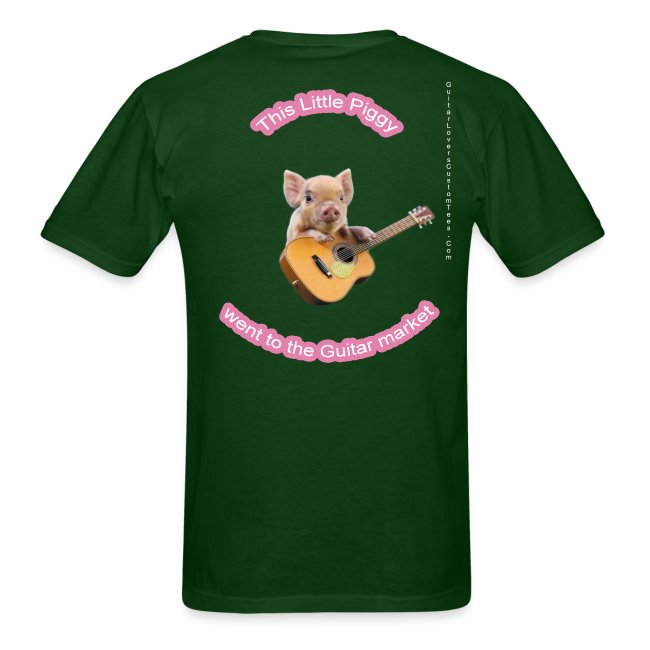 GuitarPigLogo by GuitarLoversCustomTees png