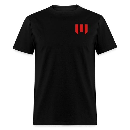 tronshirtblack2solidinvert - Men's T-Shirt