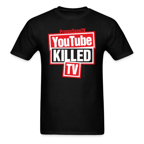 youtube killed tv tshirt print png - Men's T-Shirt