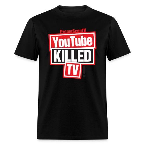 youtube killed tv tshirt print png - Men's T-Shirt