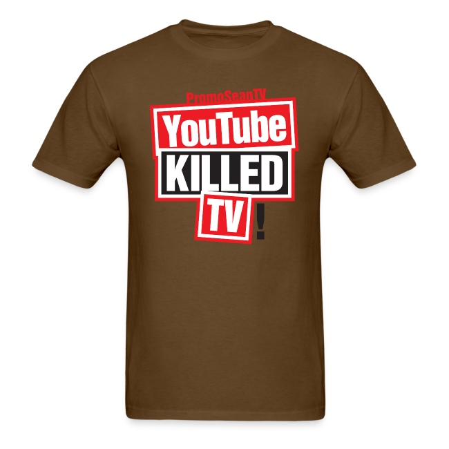 youtube killed tv tshirt print png