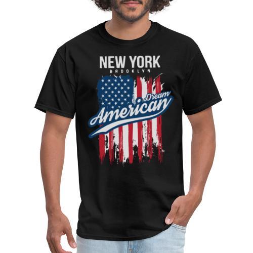 nyc new york brooklyn - Men's T-Shirt