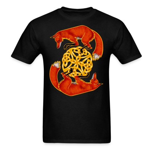 Circling Foxes - Men's T-Shirt