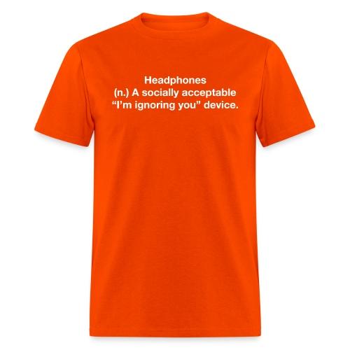 HPH ignoring white - Men's T-Shirt