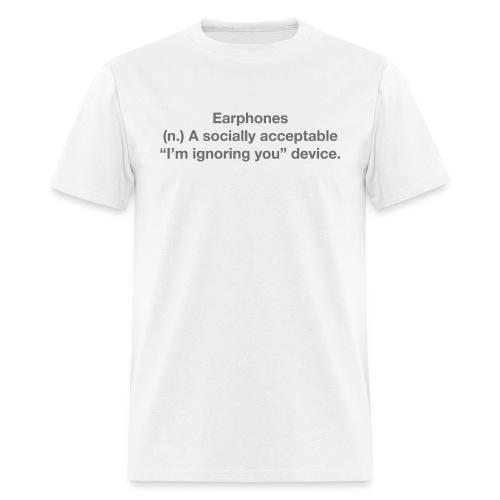 EPH ignoring grey - Men's T-Shirt