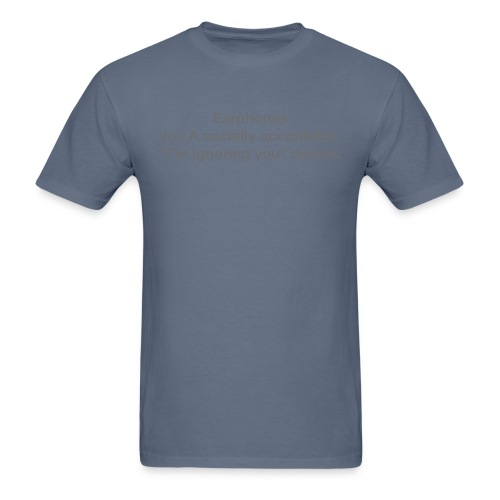 EPH ignoring grey - Men's T-Shirt