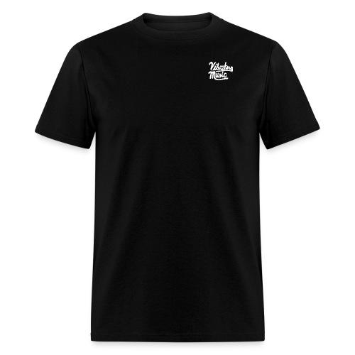 Vibrating Music Text - Men's T-Shirt