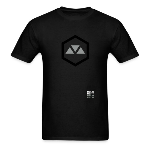 movementmagazine stacked - Men's T-Shirt