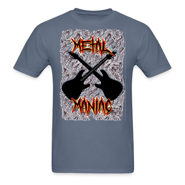 MetalManiac by GuitarLoversCustomTees gif