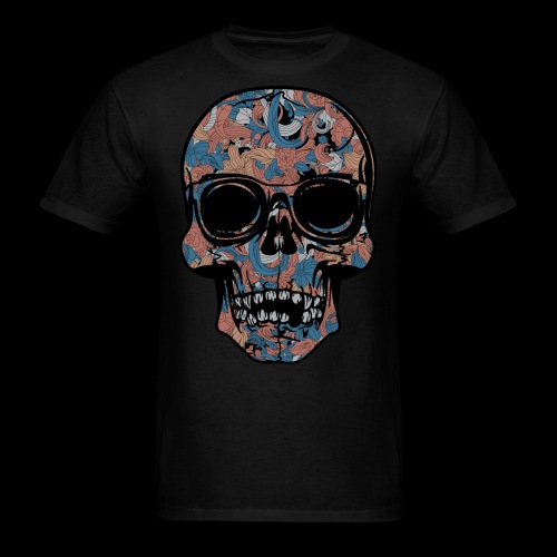 Abstract Skull With Sunglasses - Men's T-Shirt