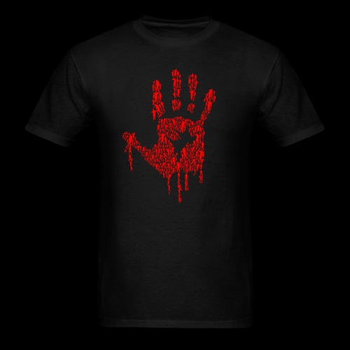 The Haunted Hand Of Zombies - Men's T-Shirt