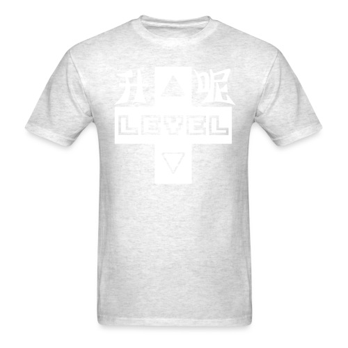 LEVEL UP 升呢 SING LE WHITE - Men's T-Shirt