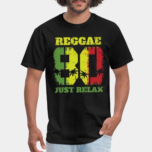 reggae music relax - Men's T-Shirt