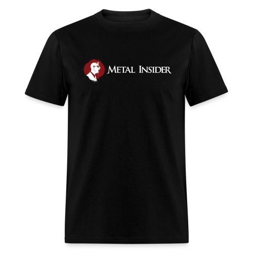 MILogo WhiteRed Transparent png - Men's T-Shirt