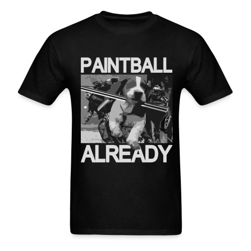 pb already shirt front final - Men's T-Shirt
