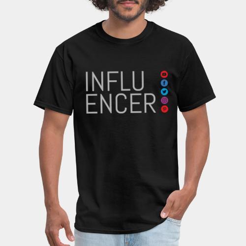 social media influencer - Men's T-Shirt