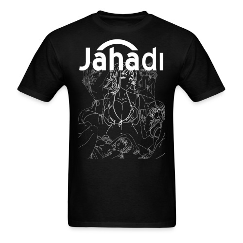 HADIBITCHESWHITE - Men's T-Shirt