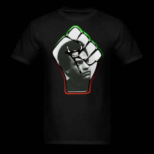 Huey Newton RBG Fist - Men's T-Shirt