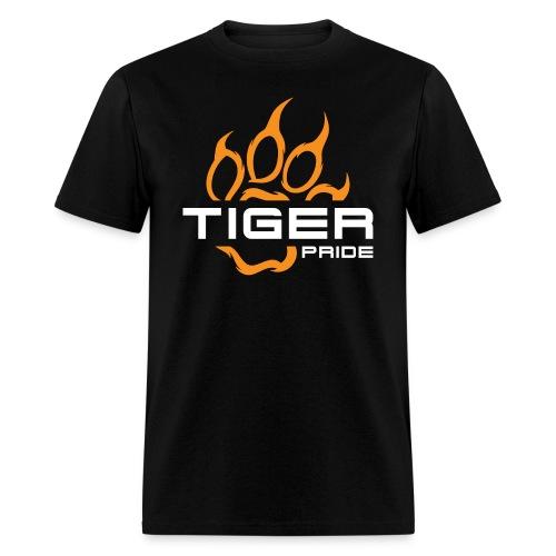 IV Tiger Pride on Black - Men's T-Shirt