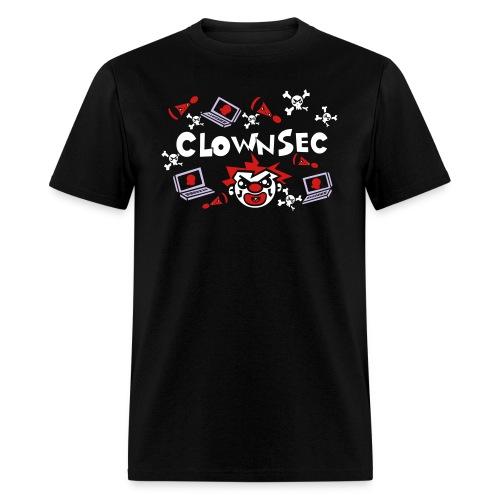 The Clown Hacker - Men's T-Shirt