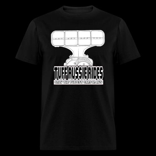 Tuff Aussie Rides Blower Design - Men's T-Shirt