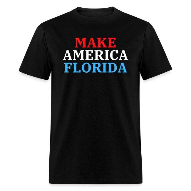 Make America Florida (Red, White, Blue)