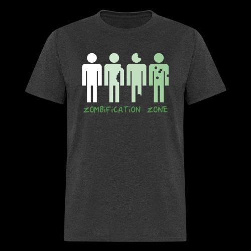 Zombification Zone - Men's T-Shirt