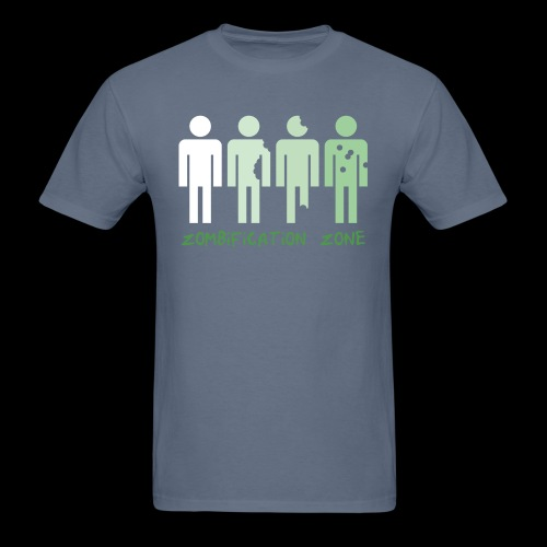 Zombification Zone - Men's T-Shirt
