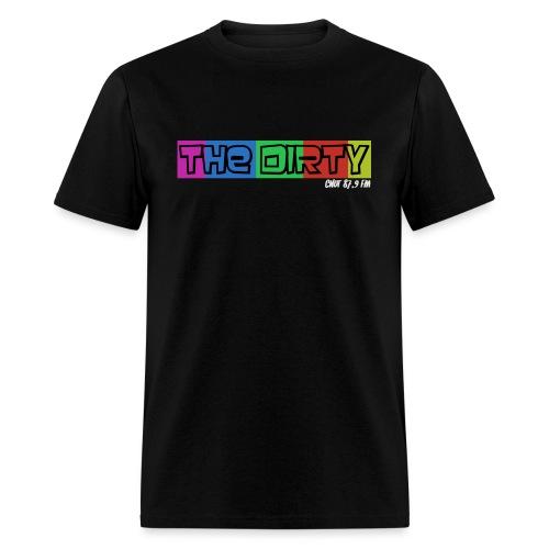 The Dirty FM transparent - Men's T-Shirt