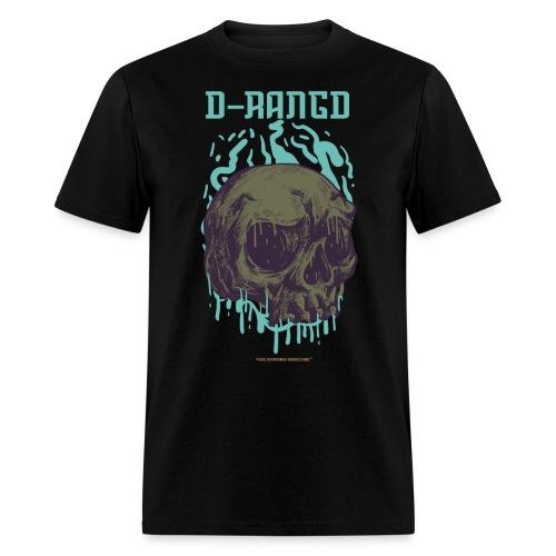 D-RaNGD Melting Skull Logo - Men's T-Shirt