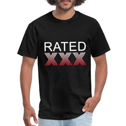 Rated XXX - Men's T-Shirt