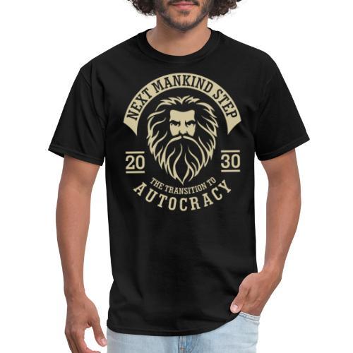 mankind democracy freedom autocracy - Men's T-Shirt