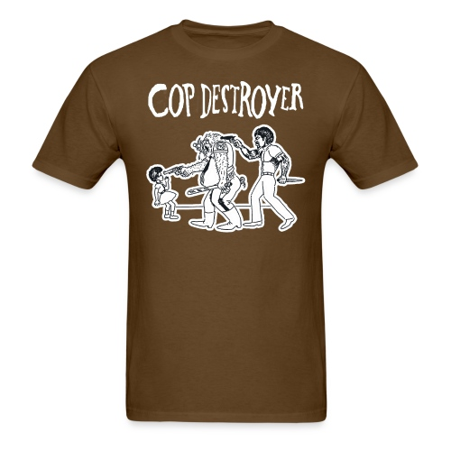 copdestroyertee png - Men's T-Shirt