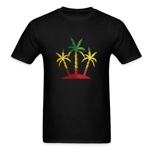 Palm Tree Reggae - Men's T-Shirt